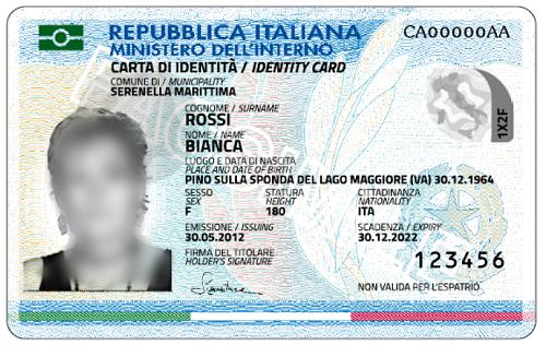 Anche a Vezzano la Carta di Identità diventa Elettronica – Comune di ...
