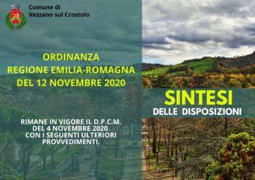 Leggi: «Covid19: Ordinanza Regionale del 12 novembre…»
