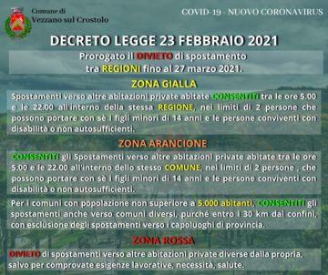Leggi: «Covid-19: nuovo Decreto Legge del 23…»