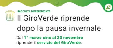Leggi: «Da marzo riparte il Giroverde!»