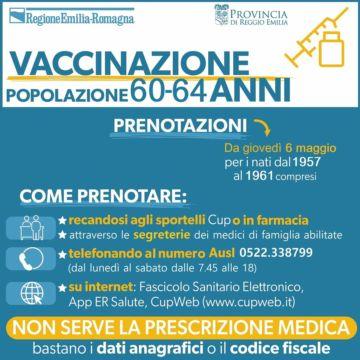 Leggi: «Vaccinazioni, via alle prenotazioni per i…»
