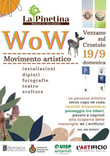 Leggi: «WoW Movimento artistico in Pinetina il…»