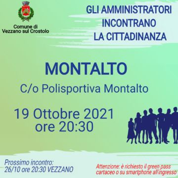 Leggi: «Martedì 19 ottobre gli amministratori inconteranno…»